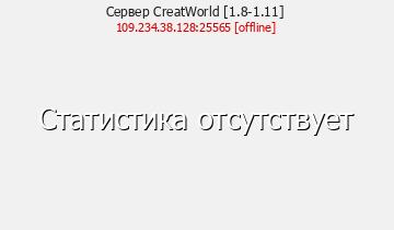 Сервер CreatWorld-сервер с мини-играми