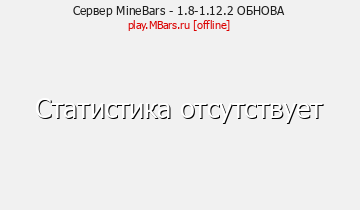 Сервер Minecraft MineBars - NoDupe-PvP-Games