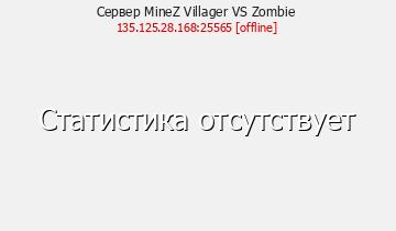 Сервер Minecraft MineZ Villager VS Zombie