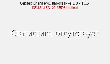 Сервер Minecraft EnergieMC Выживание 1.8 - 1.16