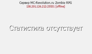 Сервер Minecraft Zombie RPG
