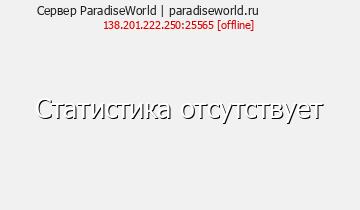 Сервер Minecraft ParadiseWorld - 1.8-1.15.2