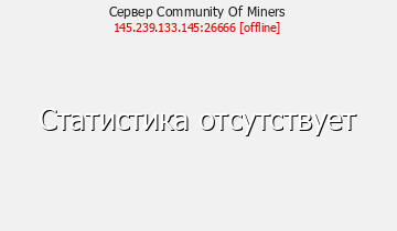 Сервер Minecraft Community Of Miners