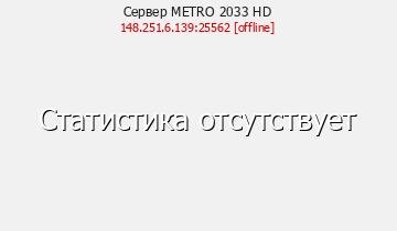 Сервер Minecraft METRO 2033 HD