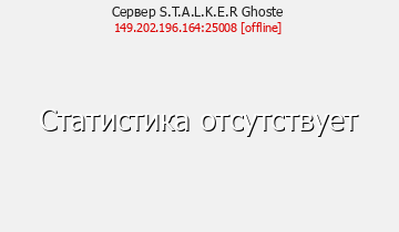 Сервер Minecraft S.T.A.L.K.E.R Ghoste