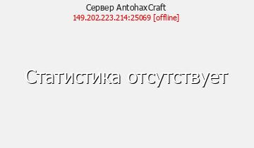 Сервер AntohaxCraft