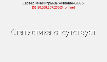 Сервер Minecraft МиниИгры-Выживание-GTA 5