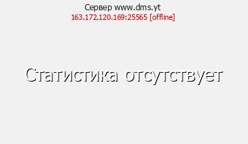Сервер Minecraft DMS.yt Онлайн 1500