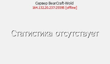 Сервер BearCraft