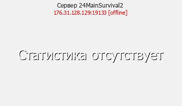 Сервер Minecraft 24Main - 0.15