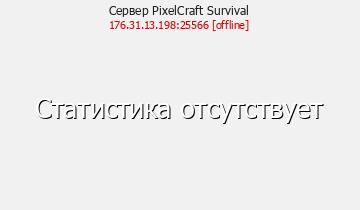 Статистика Сервера PuschCraft 1.7.2