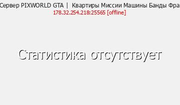 Сервер Minecraft PIXWORLD GTA | Квартиры Миссии Машины Банды Фра