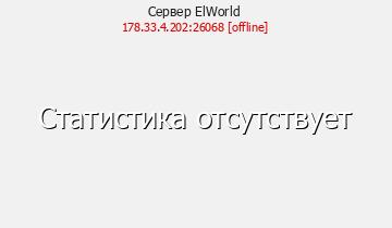 Сервер ElWorld