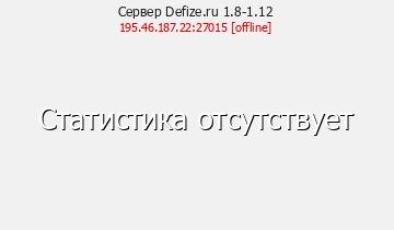 Сервер Scorpius Server 1.7.10 v1.2
