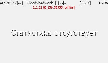 Сервер BloodShedWorld
