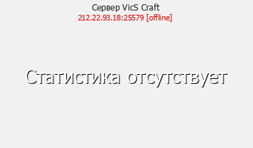 Сервер Vic'S Craft