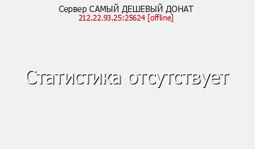 Сервер САМЫЙ ДЕШЕВЫЙ ДОНАТ
