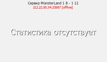 Сервер MonsterLand