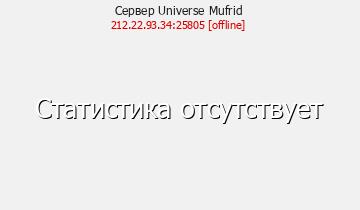 Сервер Minecraft Universe Mufrid
