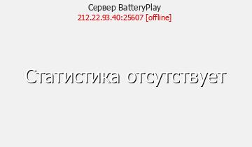 Сервер BatteryPlay