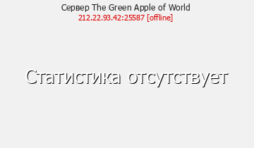 Сервер The Green Apple of World
