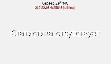 Сервер Minecraft ZefirMC