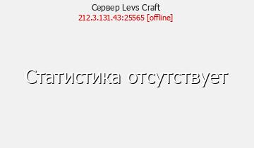 Сервер Minecraft Levs Craft