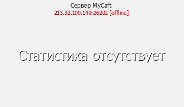 Сервер Minecraft MyCaft