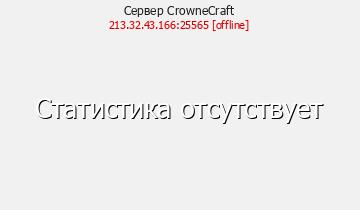 Сервер Minecraft CrowneCraft