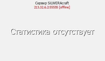 Сервер Minecraft SiLWERAcraft