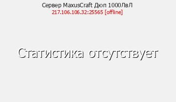 Сервер Minecraft MaxusCraft Дюп 1000ЛвЛ