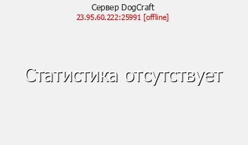 Сервер Minecraft DogCraft...