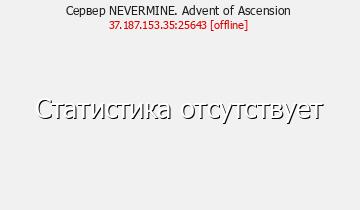 Сервер Minecraft NEVERMINE. Advent of Ascension