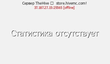 Статистика Сервера HiveMC