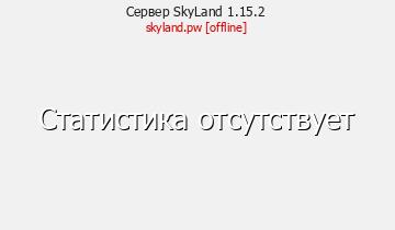 Сервер Minecraft SkyLand 1.15.2
