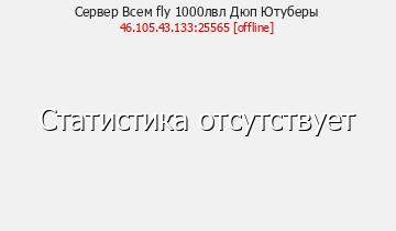 Сервер Minecraft Всем fly 1000лвл Дюп Ютуберы