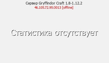 Сервер Gryffindor Craft 1.8-1.12.2