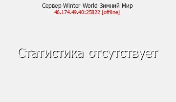 Сервер Winter World