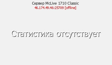 Classic - Майнкрафт сервер 1.6.4