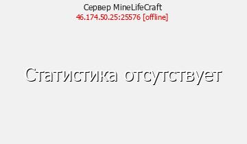 Сервер Minecraft MineLifeCraft