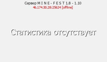 Сервер Minecraft MineFest World 1.8 - 1.10