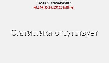 Сервер Minecraft DniweRebirth