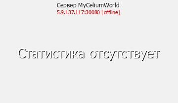 Сервер Minecraft MyCeliumWorld