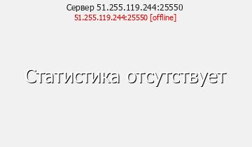 Сервер Minecraft 51.255.119.244:25550