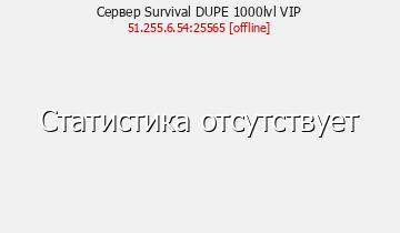 Сервер SurvivalCraft Всем ВИП