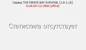 Сервер Minecraft PirateBay
