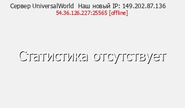 Сервер UniversalWorld