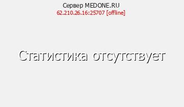 Сервер MEDONE.RU - Пожалуй лучший сервер майнкрафт.