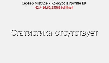 Сервер Minecraft MistAge - Конкурс в группе ВК