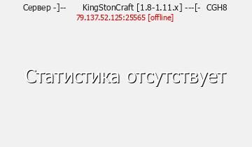 Сервер KingStonCraft